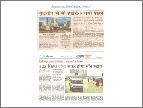 plots in neemrana on nh8